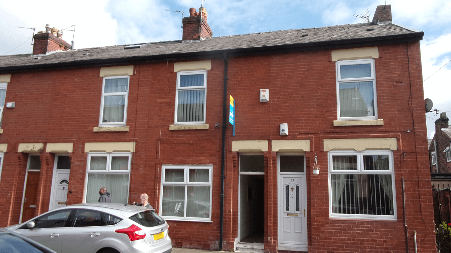 Liverpool terraced home
